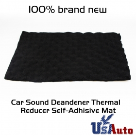 "Bargain Mat Roll RV Automotive Heat Noise Sound Deadener Proof 180""x40"" 50 sqft"